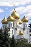Uspensky Cathedral Yaroslavl Russia Stock Photo