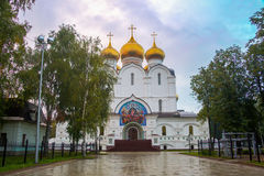 The Uspensky Cathedral in Yaroslavl, Russia Royalty Free Stock Photo