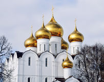 The Uspensky Cathedral Royalty Free Stock Image