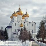 The Uspensky Cathedral Stock Image
