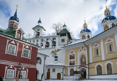 Uspensky cave church Royalty Free Stock Photography