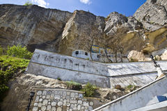 Uspensky Cave Monastery Stock Image