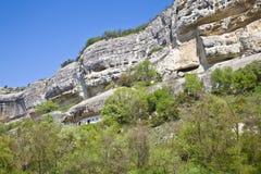 Uspensky Cave Monastery. Aviary Stock Image