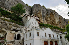 Uspensky Cave Monastery, Bakhchisarai Royalty Free Stock Photos