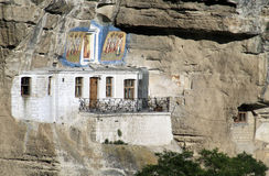 The Uspensky Cave Monastery Royalty Free Stock Images