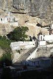 The Uspensky Cave Monastery Stock Photos