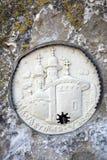 Uspensky Cave Monastery. Relics of saints Stock Images