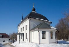 Uspensky church in Shchapovo Royalty Free Stock Photo