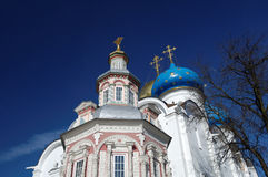 Uspensky Church Trinity-St. Sergius Lavra. Sity Sergiev Posad, Russia Stock Photo