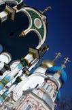 Uspensky Church Trinity-St. Sergius Lavra Stock Image