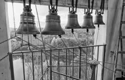 Uspensky Dome belltower Stock Photo