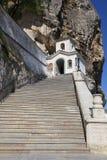 uspensky grottacrimea kloster Royaltyfria Bilder
