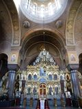 Uspensky Kathedrale in Helsinki Stockfoto