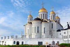 Uspensky Kathedrale in Vladimir, Russland Lizenzfreie Stockfotos