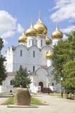 Uspensky-Kathedrale Yaroslavl Russland Stockfoto