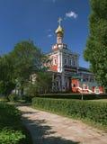Uspensky Kirche mit Refektoriumraum 1685-1687 stockfotografie