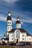 Uspensky kyrka i Arkhangelsk Fotografering för Bildbyråer