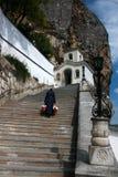 Uspensky monastery in Bakhchisaray Royalty Free Stock Photo