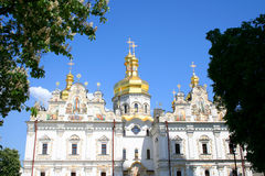 Uspensky temple. Pecherskaya Lavra - Kiev Stock Photography