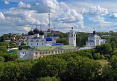Uspensky Trifonov monastery in Kirov, Russia Royalty Free Stock Photography