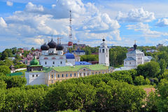 Uspensky Trifonov monastery in Kirov, Russia Royalty Free Stock Photography