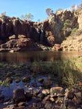 Uspokajać rzekę Zdjęcia Stock