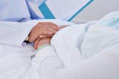Uspokajający pacjent zdjęcie stock