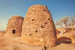 Usprawniona forma ceglani domy wyprostowywający dla gotować blisko antycznych hinduskich świątyni Karnataka, India Fotografia Stock