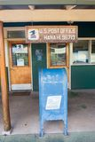 USPS in Hana, Hawaii. Stock Images