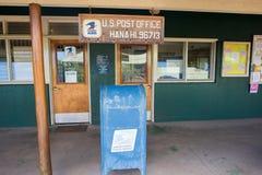 USPS i Hana, Hawaii Arkivfoto