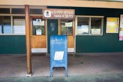 USPS i Hana, Hawaii Fotografering för Bildbyråer