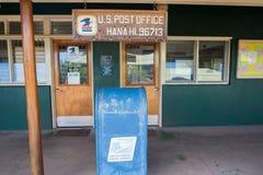 USPS i Hana, Hawaii Royaltyfri Foto