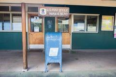 USPS i Hana, Hawaii Arkivfoton
