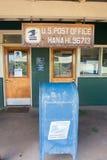 USPS i Hana, Hawaii Arkivbild