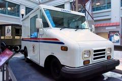 USPS pocztowy pojazd obrazy stock