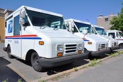 USPS Postfahrzeug lizenzfreie stockfotografie