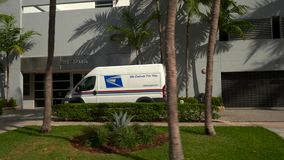 USPS United Stated Postal Service truck