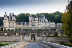 ` Ussé, Loire Valley, Francia del castello d Fotografia Stock