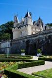Ussè Schloss lizenzfreies stockbild