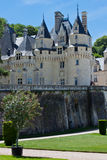 Ussè Schloss stockfotos