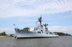 USS埃德森在贝城, MI 2016年 库存照片