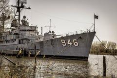 USS埃德森海军驱逐舰 库存照片