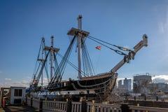 USS宪法-波士顿,马萨诸塞,美国 库存图片
