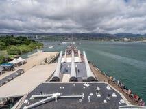 USS密苏里战舰博物馆 图库摄影