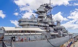 USS密苏里战舰博物馆 免版税库存图片