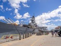 USS密苏里战舰博物馆 库存图片