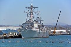 USS希金斯 免版税库存图片