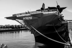 USS强悍博物馆 库存图片