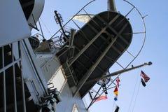 USS强悍博物馆 库存照片