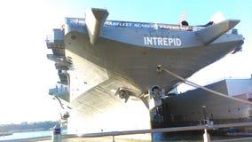 USS强悍海&空气博物馆 免版税库存图片